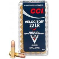 Náboje CCI .22LR Velocitor