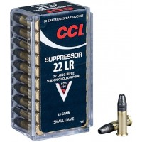 Náboje CCI .22LR Suppressor
