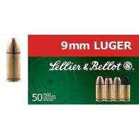 Náboje Sellier & Bellot 9 mm luger