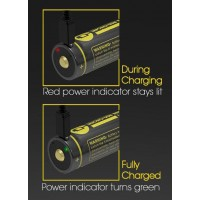 Akumulátor NITECORE typ 18650 /3400 mAh s Micro USB