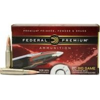308Win. Federal Premium Nosler AccuBond 165gr/10,69g